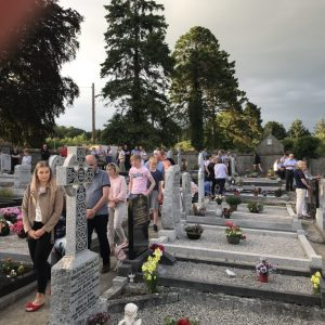Cemetery Mass in Kilquiggan July 2018